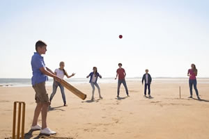 Pouncing Panthers - Cricket on the Beach